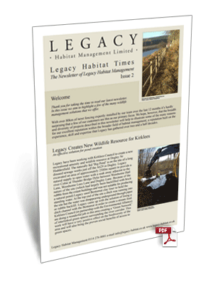 Legacy Habitat Issue 2