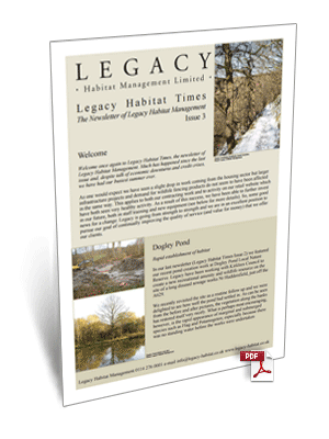 Legacy Habitat Issue 3