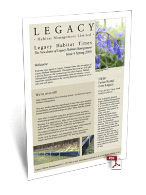 Legacy Habitat News Latest News Update From Legacy Habitat