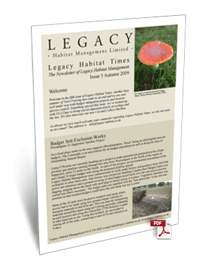 Legacy Habitat Issue 5